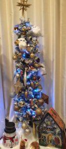 クリスマスツリー脳を休める